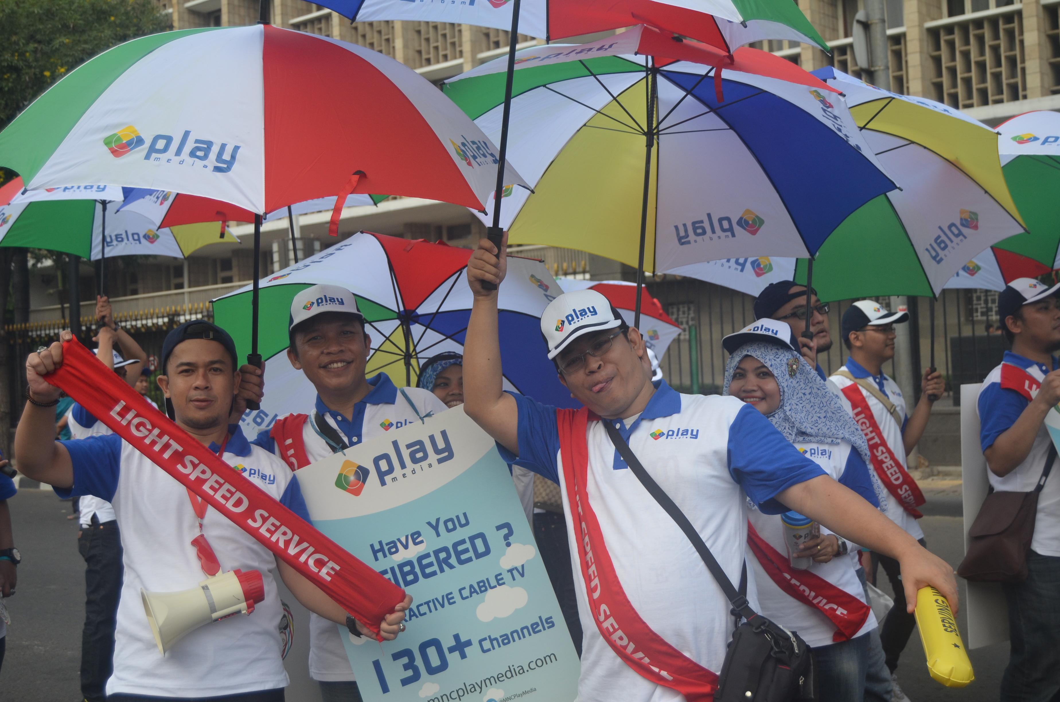 MNC Play Hadir pada Parade Simpatik Hari Pelanggan Nasional